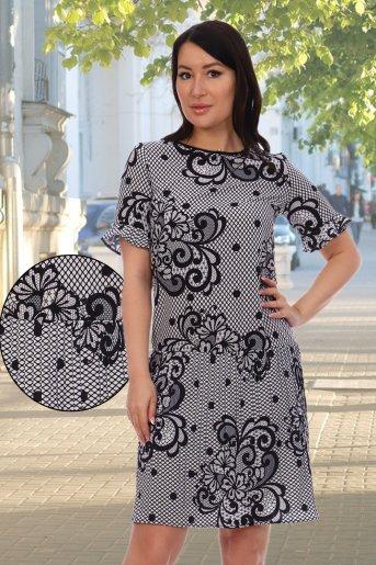 """Платье 10333 """"Н"""" (Белый) - Дамит"""