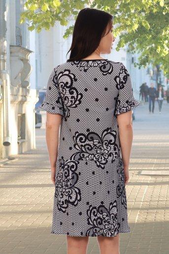 "Платье 10333 ""Н"" (Белый) (Фото 2)"
