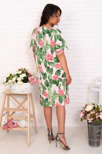 """Платье 10490 """"Н"""" (Цветы) (Фото 2)"""