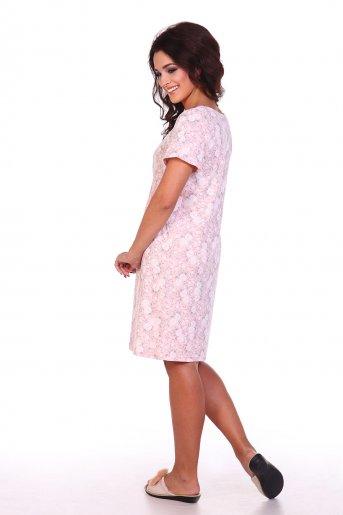 """Ночная сорочка Дрема """"Е"""" (Розовый) (Фото 2)"""